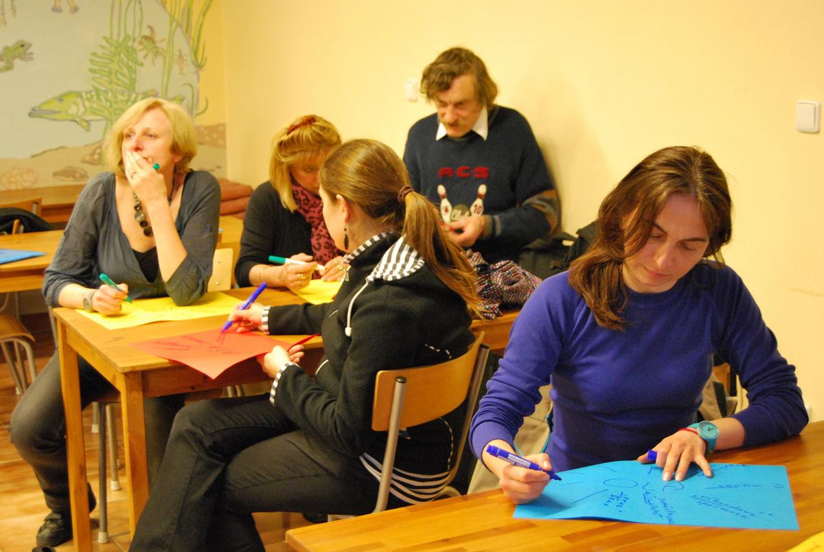 Interaktivní seminář - Praha, duben 2013