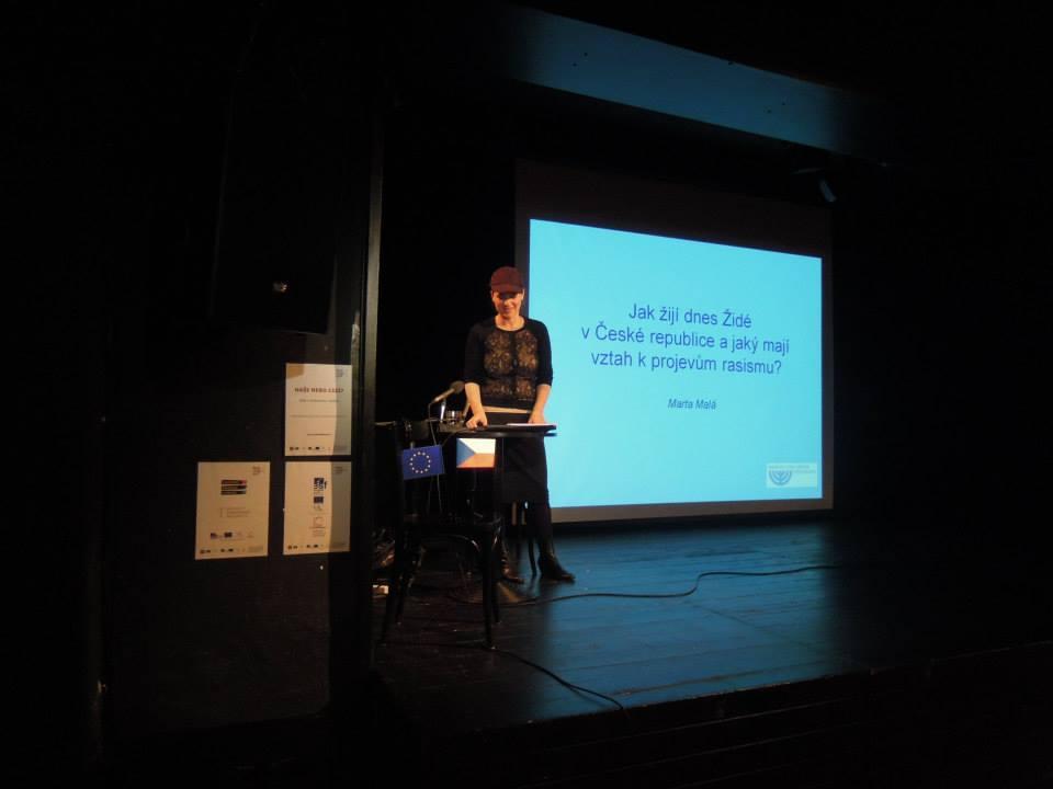 Konference Židovské obce dnes a jejich vztah k antisemitismu a rasismu